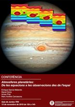 Conferència sobre atmosferes planetàries al campus de Terrassa de la UPC