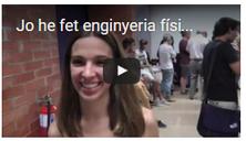 Dos nous vídeos desenfadats al web del grau en enginyeria física
