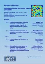 El grup de Biologia Computacional i Sistemes Complexos realitza la reunió d'investigació el 4 de febrer a l'EPSEB