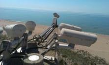 Nova campanya de mesures a la platja de Castelldefels