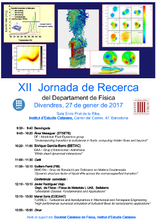 XII Research Conference of the Department of Physics