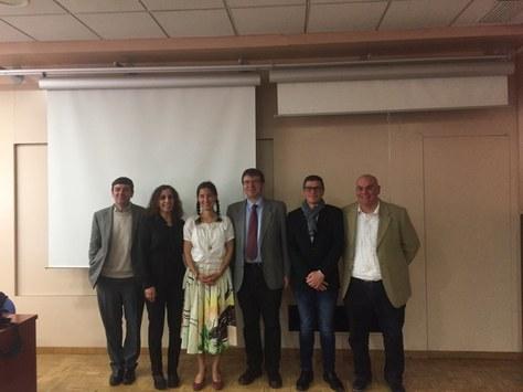 Lara Escuain defiende con éxito su tesis en la ESEIAAT